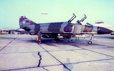 23 Sqn at Akrotiri, Cyprus. 1982.